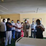 National COVID-19  Taskforce visits Masvingo Isolation Centre