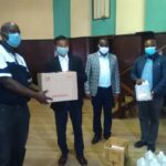 Steelmakers (Simbi) donates PPE to MCC